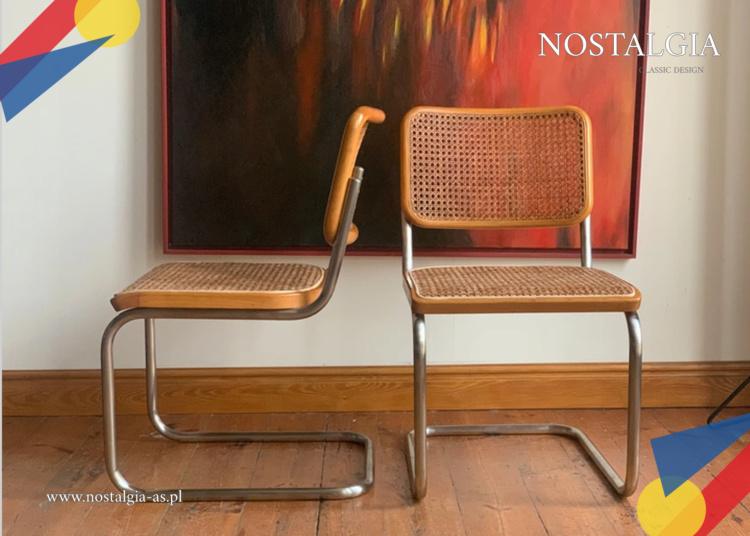 Cesca Thonet S32 M. Breuer Bauhaus para krzesel