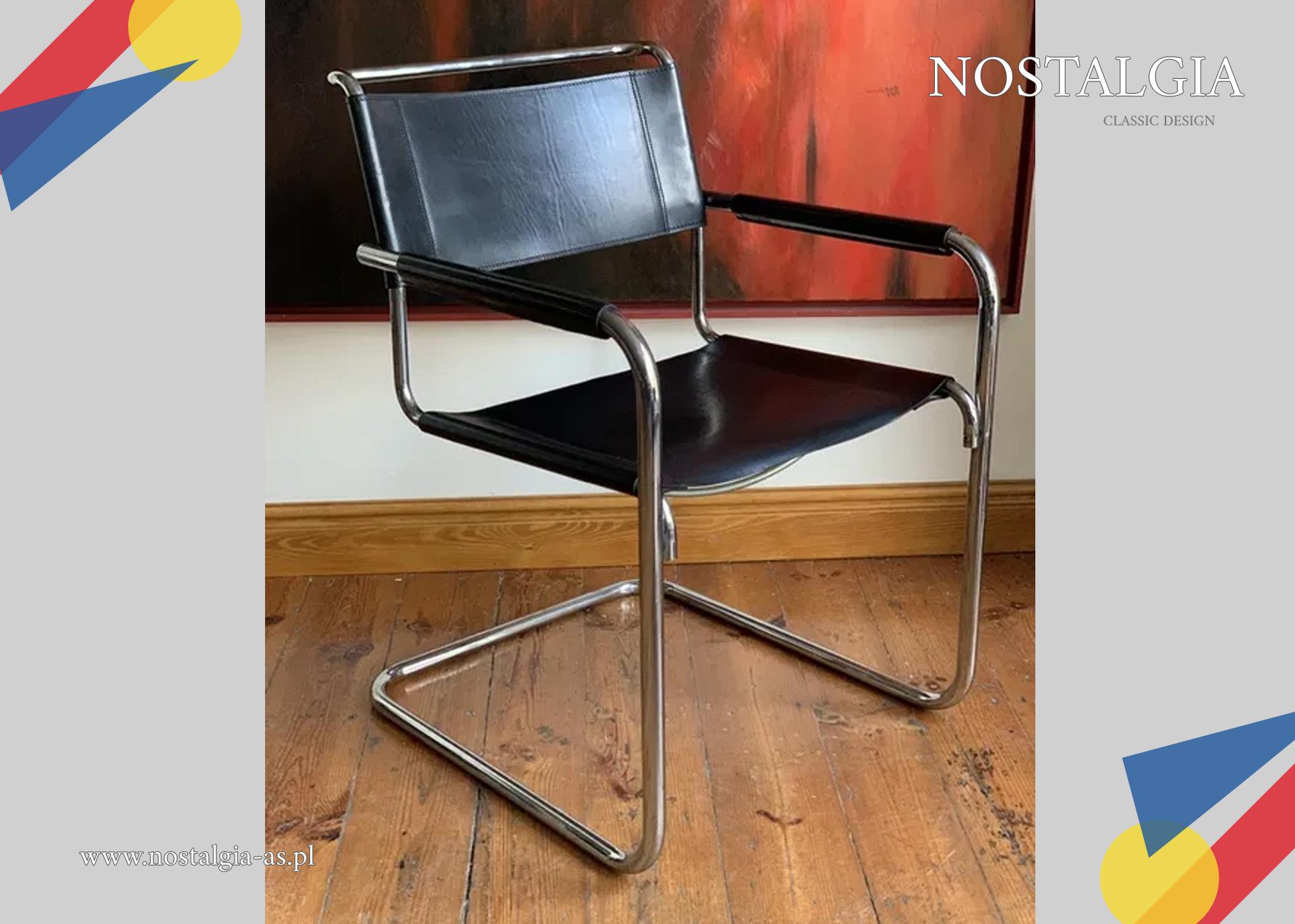 Thonet S34 oryg.Krzesło Bauhaus Mart Stam