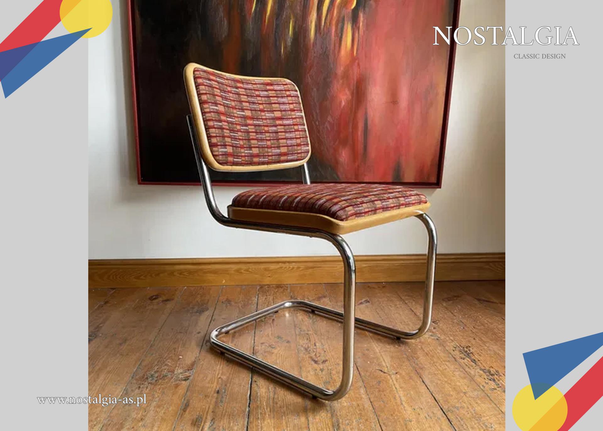 Thonet S32 Marcel Breuer Bauhaus krzesło